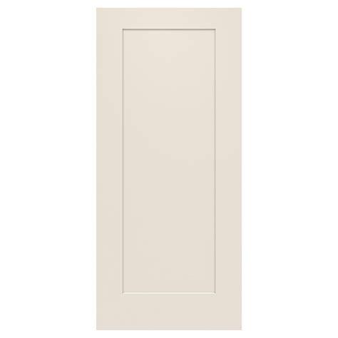 32 X 79 Exterior Door Jeld Wen 32 In X 79 In 1 Panel Craftsman Primed Steel Front Door Slab Thdjw166100394 The