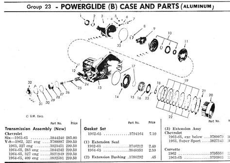 powerglide diagram pin powerglide transmission diagram on
