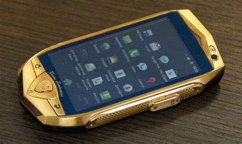 lamborghini unveils 163 1 480 android tablet gold plated