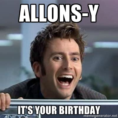 Doctor Who Birthday Meme - happy birthday meme dr who pictures to pin on pinterest