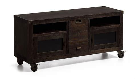 mueble vintage mueble tv con ruedas vintage industrial en