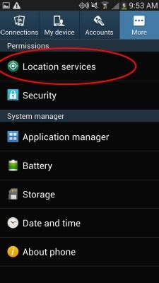 Samsung Galaxy S4 Auto Backup L Schen by How To Turn Galaxy S4 Location Services Drippler