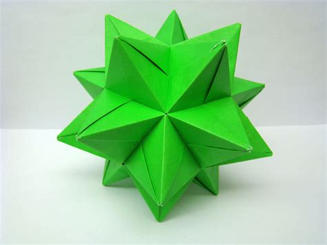 Modular Origami 12 Units - origami modular origami balls and polyhedra folded by