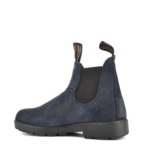 blundstone boots womens blundstone womens 1462 classic indigo blue suede boot