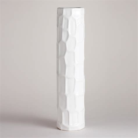 White Cylinder Vase by White Ceramic Cylinder Vase World Market