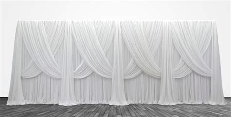 Criss Cross Curtains Premium Criss Cross Curtain 4 Panel Backdrop Height 6 14ft