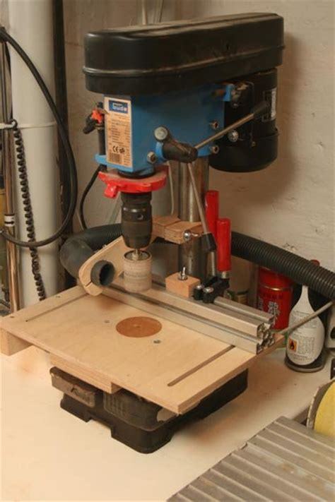 drill press table vaccum mount diy  mafe