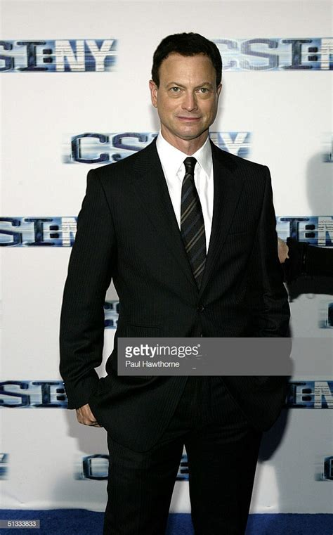 actor gary sinise new show ny arrivals getty images