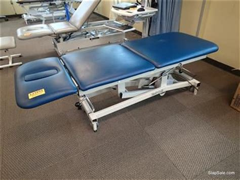 physical therapy table used used medcraft t7410 physical therapy table for sale