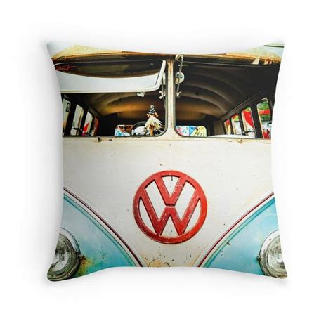 vw throw pillow cover only vintage vw vw