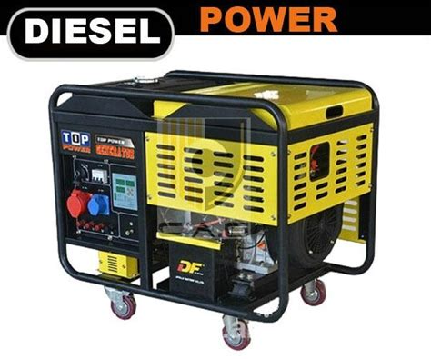 10kw diesel generator tp12000dge a top power china