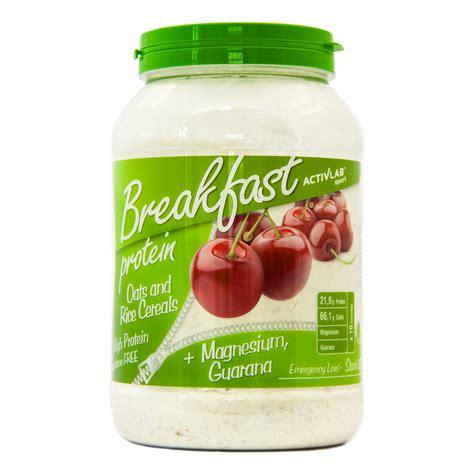 creatine yogurt activlab protein breakfast 1000g yoghurt cherry