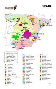 Spain Wine Map by A Guide To Rioja And Ribera Del Duero Spain Wines