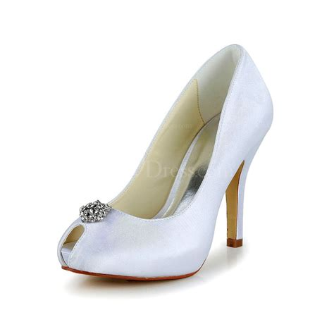 white stiletto heel pumps heels s rhinestone dress