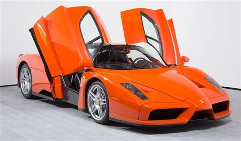 rare ferrari enzo one of one insanely rare rosso dino ferrari enzo for sale