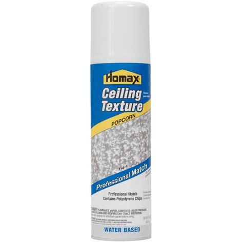Upc 041072040709 Patching Repair Homax Painting Popcorn Ceiling Spray Paint