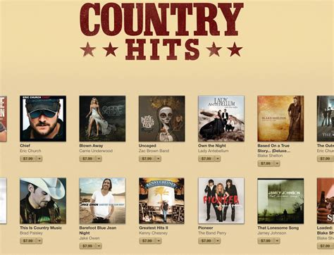 country albums itunes celebrates country drops albums prices to