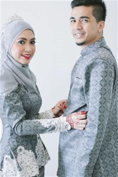 Nabilla Tenun Songket Pengantin Wedding Grey