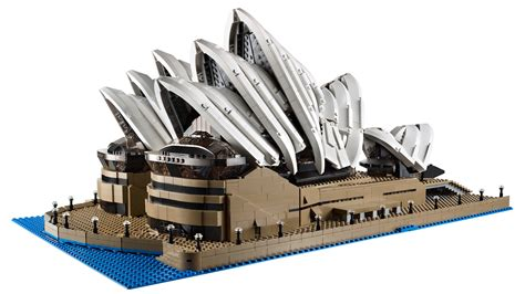 the new lego opera house is huge almost 3000 bricks