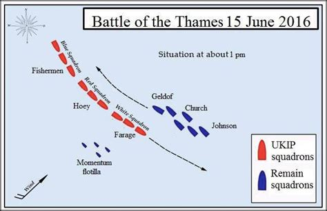 battle of thames river map united kingdom withdrawal from the european union brexit