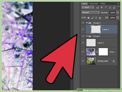 photoshop invert colors 2 clear and easy ways to invert colors in photoshop wikihow