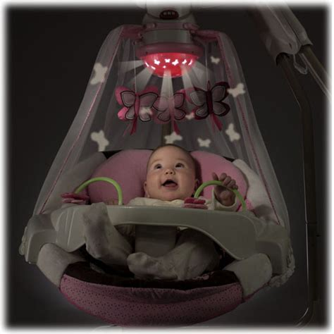 starlight swing instructions butterfly cradle n swing mocha butterfly