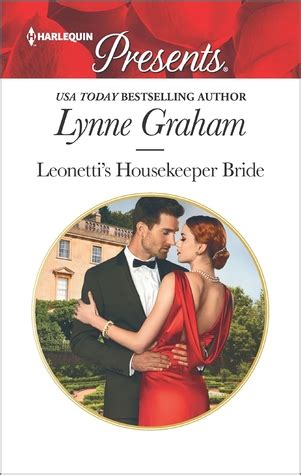 Novel Harlequin The Lynne Graham leonetti s housekeeper by lynne graham reviews discussion bookclubs lists