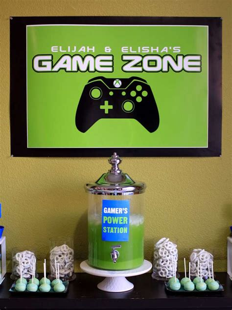 themes in games video games birthday party ideas photo 1 of 17 catch