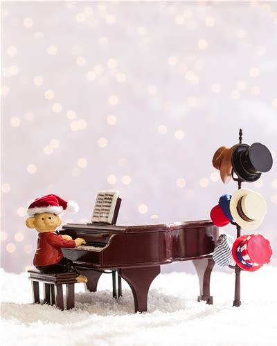 teddy takes requests with baby grand piano gifts as decorations balsam hill
