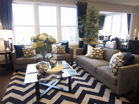 blue and gray living room ideas quot grey is the new black quot in this pulte design trend tip color continues to be a driving in