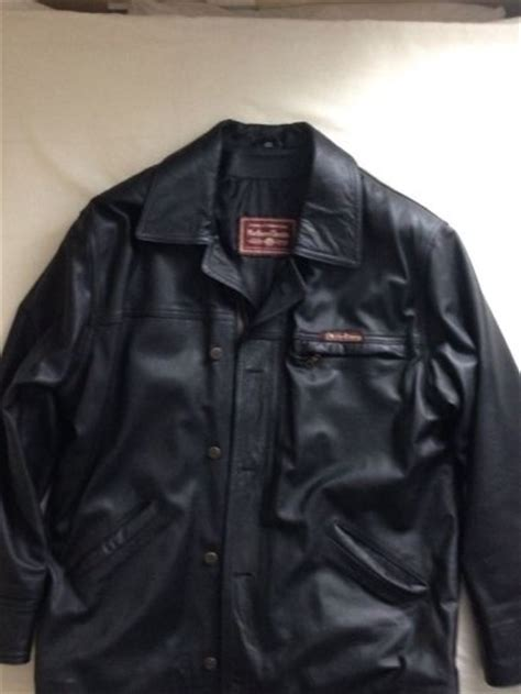 Marlboro Classic Mens Black Leather Jacket For Sale in Clondalkin, Dublin from Darisa1
