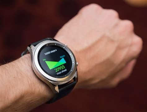 Samsung Smartwatch samsung gear s3 frontier classic smartwatch on