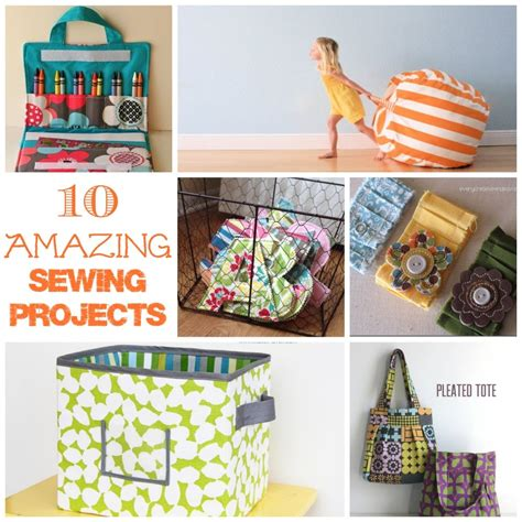 10 amazing sewing projects endlessly inspired