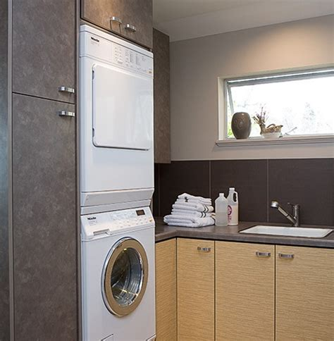 20 Small Laundry Room Decoration With Small Space Solutions Small Laundry