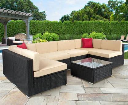 best choice products 7 piece outdoor patio garden