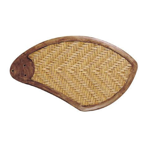 wicker ceiling fan blades shop monte carlo fan company 5 blade natural rattan insert