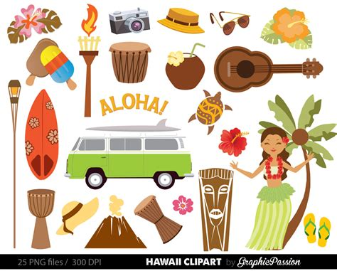 clipart for hawaii clip background clipart panda free clipart