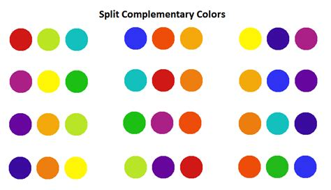 split complementary colors using colors effectively for web design digital