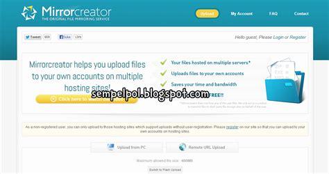 membuat link file cara membuat mirror link download file sempelpol