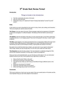 Book Report Template 5th Grade by Best Photos Of Book Report Template Grade 5 5th Grade