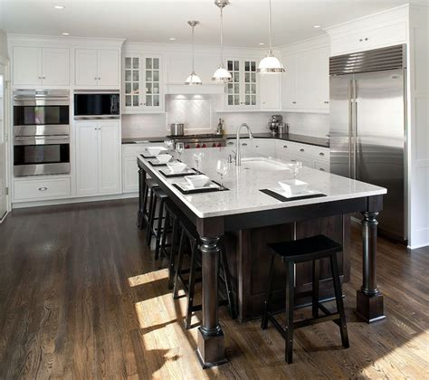 Ceiling Height Kitchen Cabinets Ceiling Height Backsplash Transitional Kitchen This House