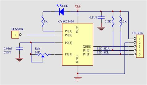layout and physical design guidelines for capacitive sensing capacitive proximity sensor circuit diagram efcaviation com