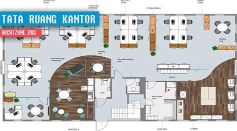 layout ruang tata usaha gambar sketsa tata ruang kantor yang nyaman archizone