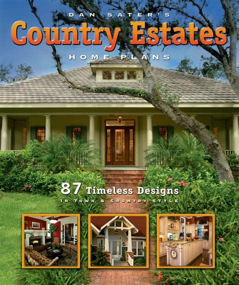 Home Plans Book by Country Estates Home Plans Book By Dan Sater Sater