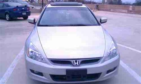 find used 2007 honda accord coupe ex l v4 low mileage