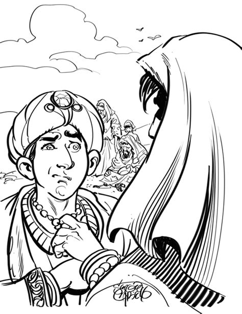 coloring page for rich young ruler calvarycurriculum s blog
