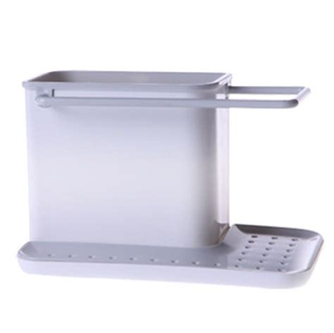 plastic sink caddy organizer space storage racks cabinet