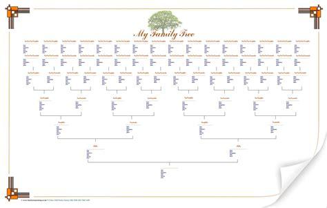 Large Printable Tree Template