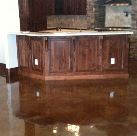prepping to stain concrete in the kitchen concrete staining traditional kitchen jacksonville