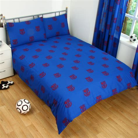 fc barcelona bedding fc barcelona bedding barcelona double duvet cover set new football bedding ebay